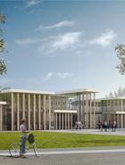 frederic borel architecte - Centre de formation, internat, salles de classe, mont-de-marsan