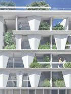 frederic borel architecte - logements et parkings, Quartier des Docks de ris orangis