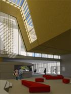 frederic borel architecte - mont saint-aignan centre culturel dance theatre