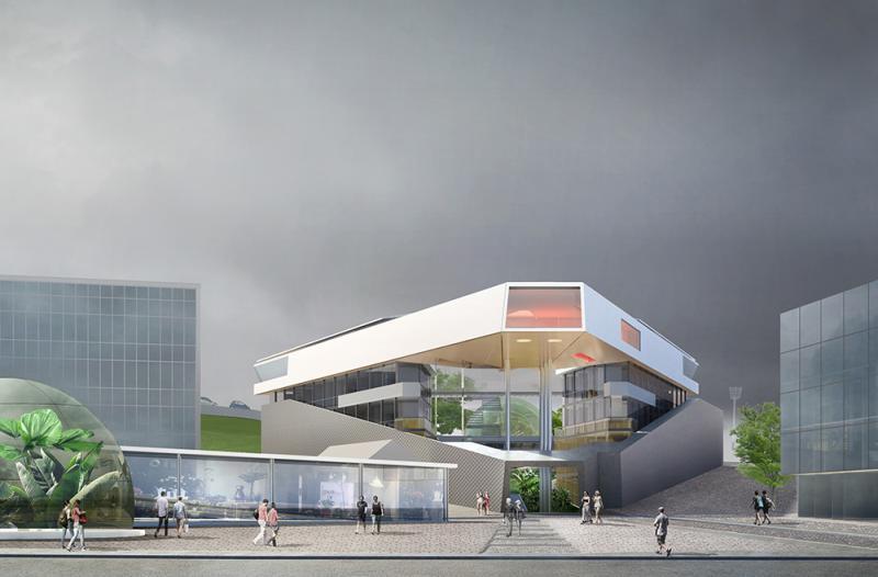 borel  - poterne des peupliers logements-ateliers architecture