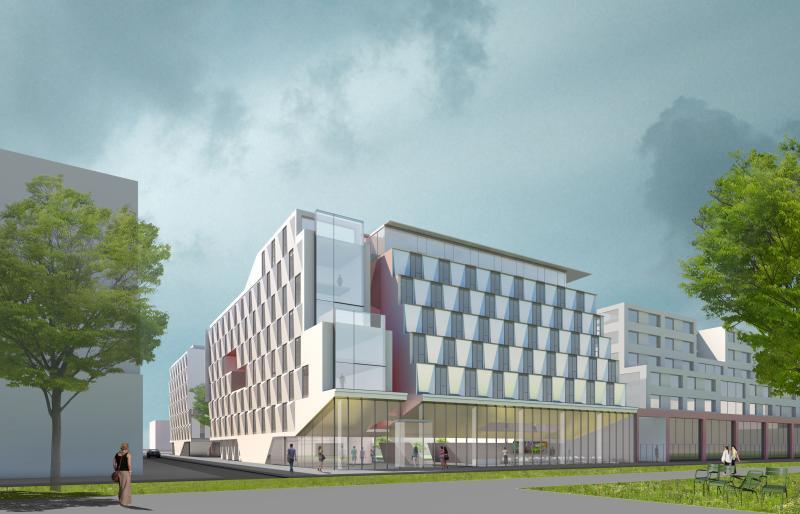 frederic borel architect - residence etudiante palaiseau