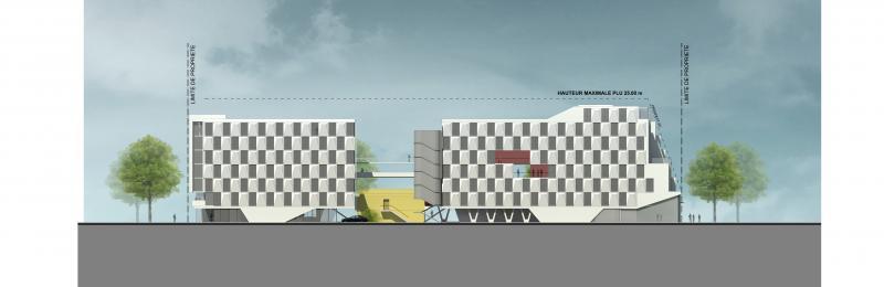 frederic borel - logements palaiseau architecture