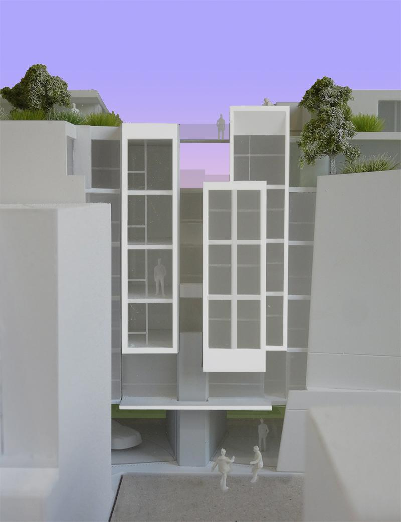 frederic borel architect passage ramey maquette