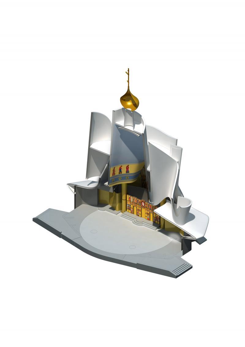 frederic borel architecte - Quai Branly spiritualité église orthodoxe