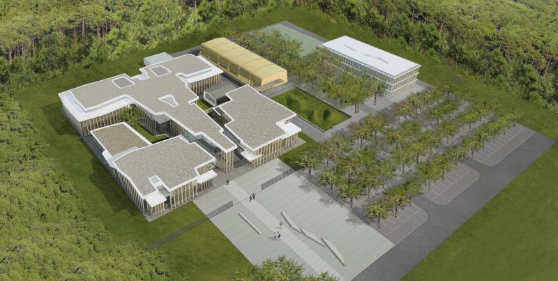 borel architect -internat, salles de classe , mont-de-marsan