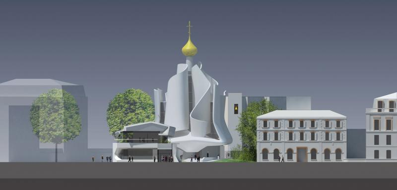frederic borel architecte - orthodoxe religion art bâtiment
