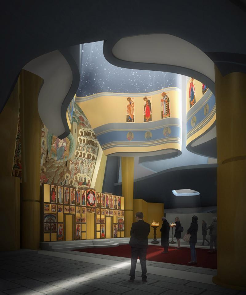 frederic borel architecte - Quai Branly Seine, Russie centre culturel