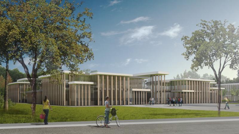 borel architecte - Centre de formation, internat, salles de classe, mont-de-marsan