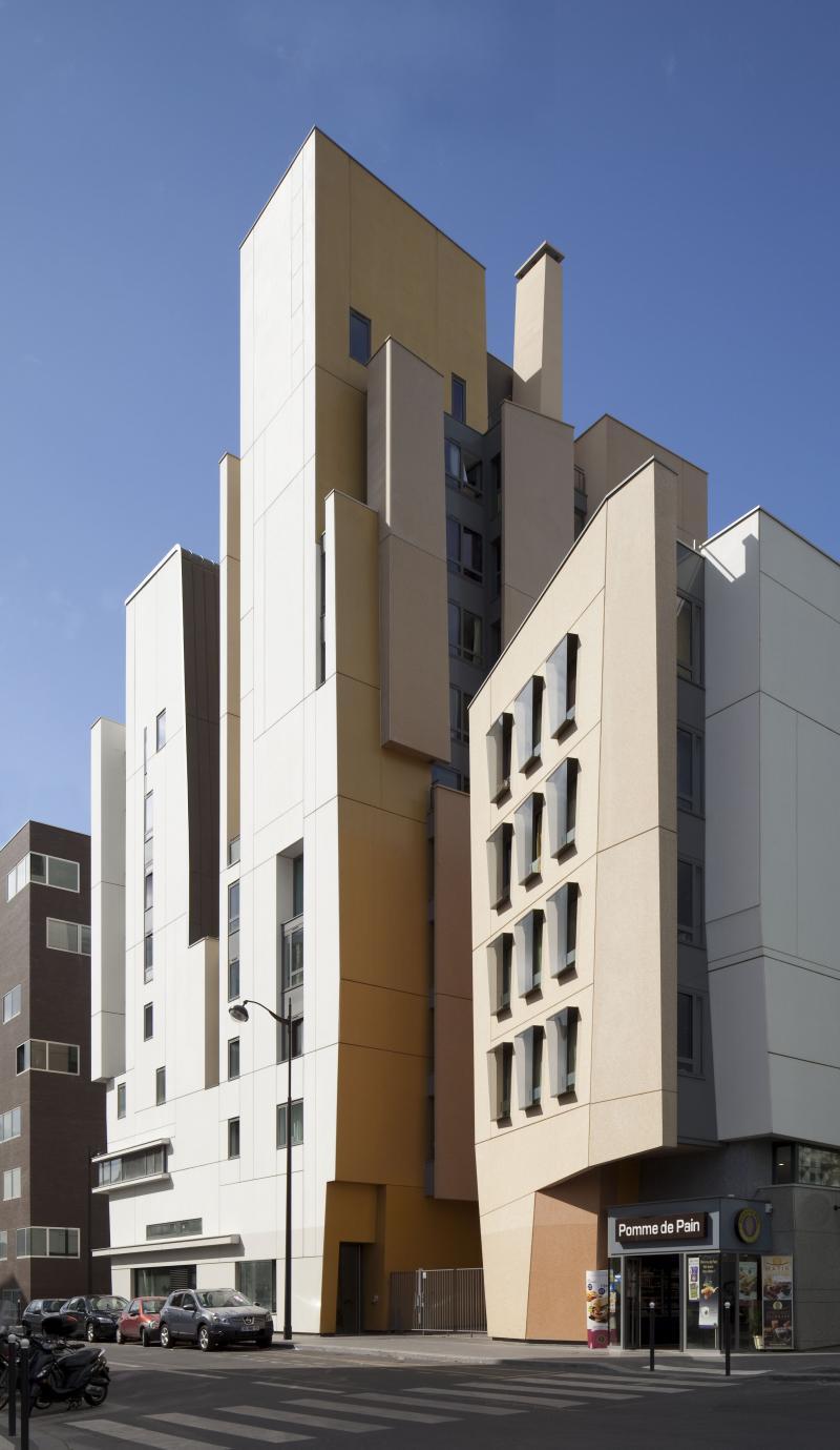 frederic borel architecte – ZAC Masséna logements, locaux d'activités, parkings - Paris 13e