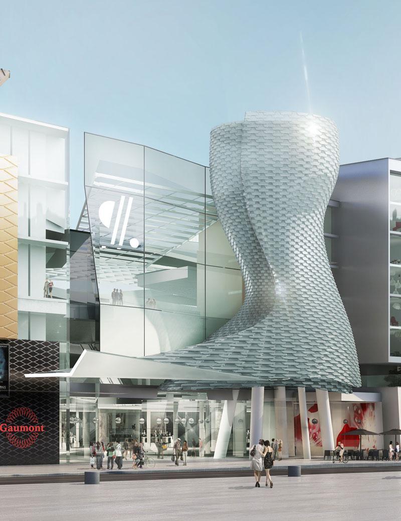 frederic borel architect Aquaboulevard Pôle de commerces cinémas sports logements