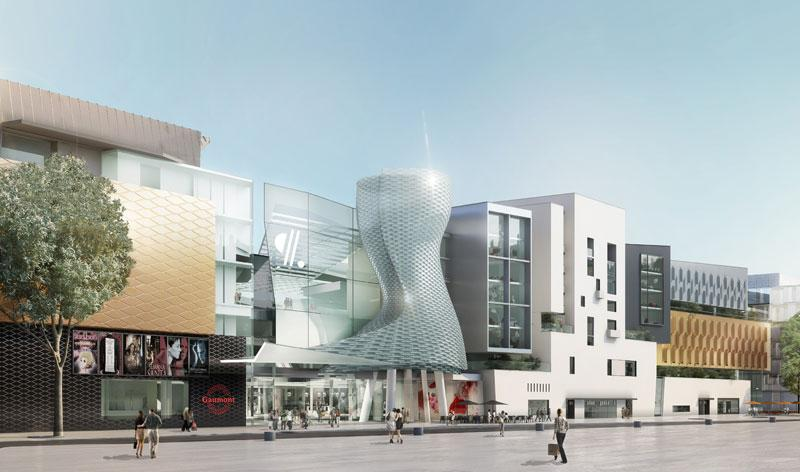 borel architecte Aquaboulevard cinémas sports logements