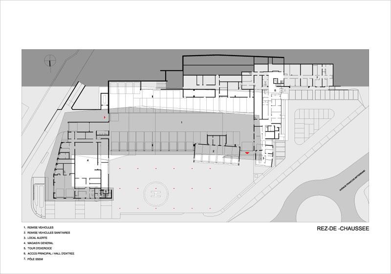 borel architect - Service Départemental d'Incendie Besançon