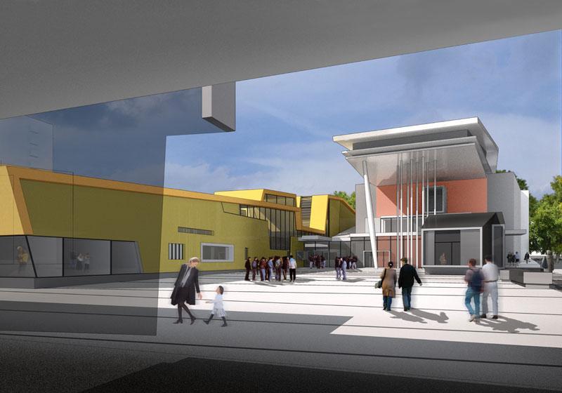 frederic borel architecte - Ecole de musique, de danse et de théâtre saint-aignan