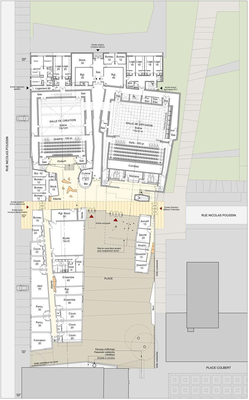 borel architect - mont saint-aignan espace de création