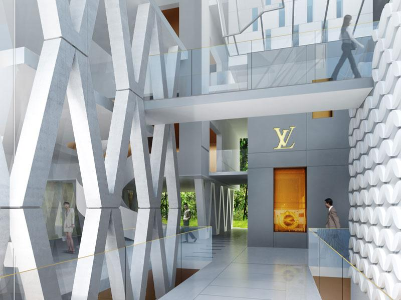 borel architect - Seoul louis vuitton boutiques