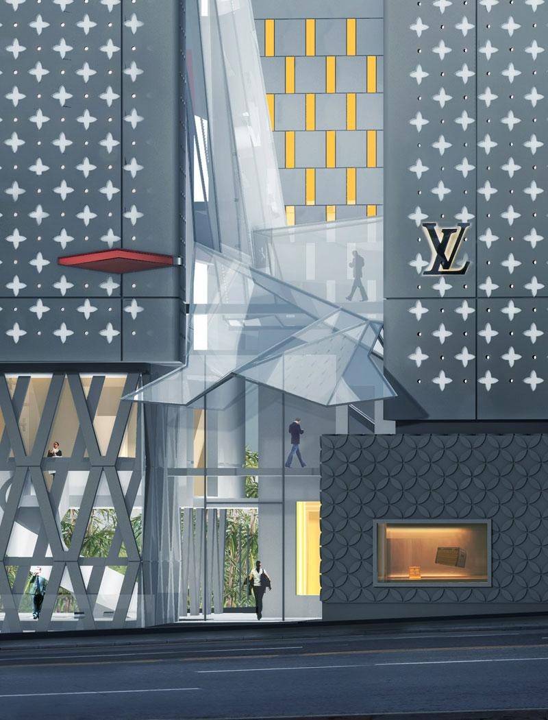 borel architecture - Showroom sac louis vuitton