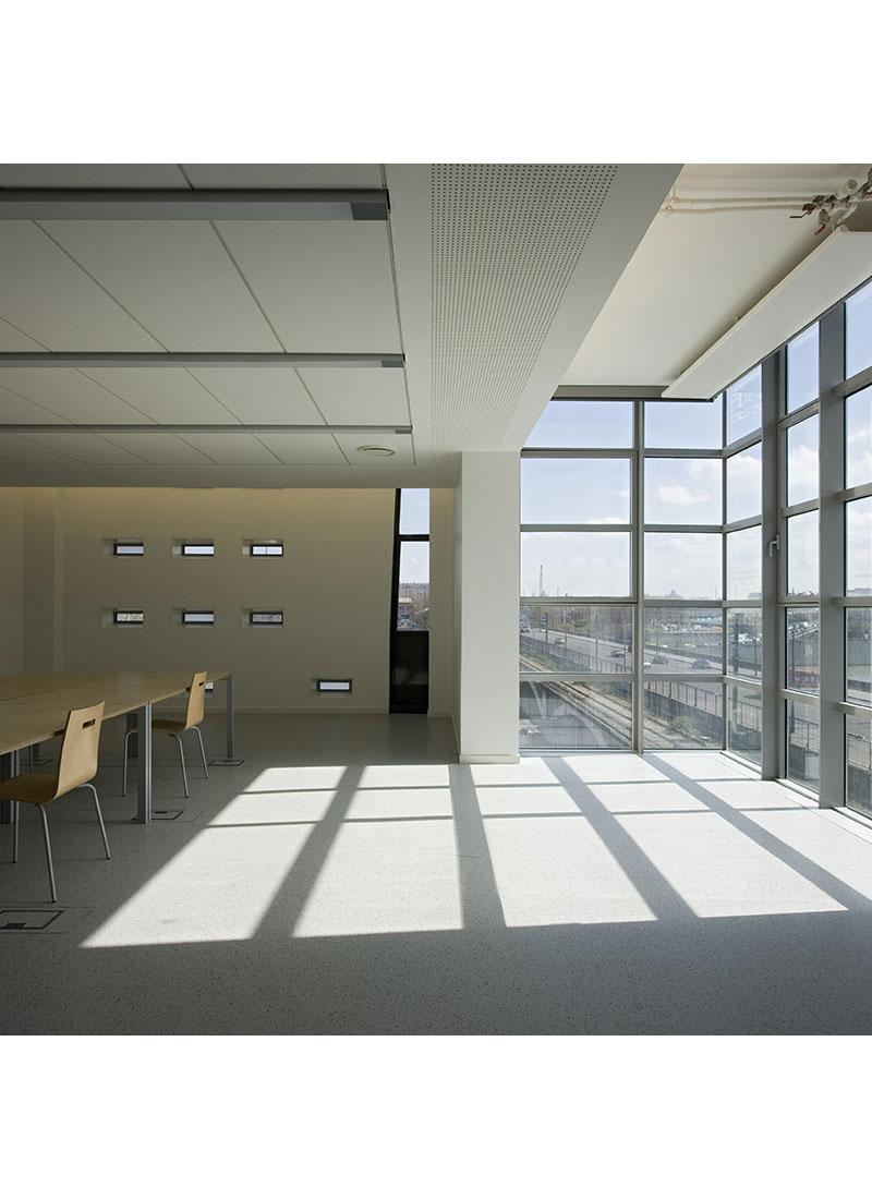borel architect - Val de seine bibliothèque école nationale supérieure d'architecture