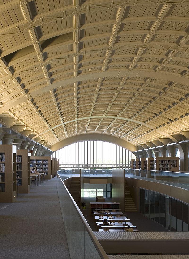frederic borel - bâtiment école nationale supérieure d'architecture paris