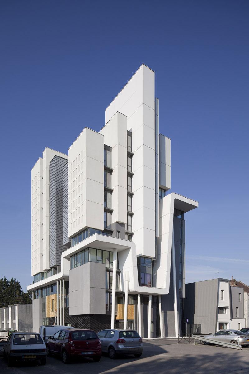 borel architect – Bethune logements et maisons de ville - Pas-de-Calais Habitat