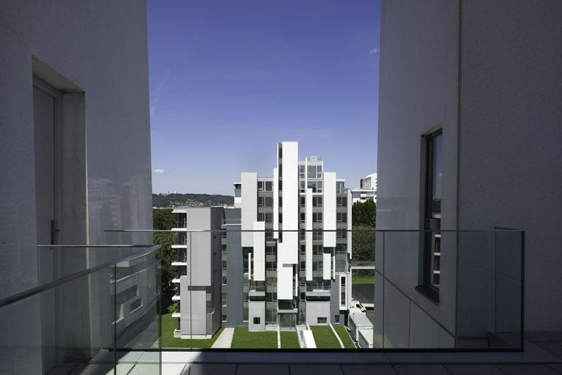 borel architecte - Quevilly 206 logements sociaux et parkings