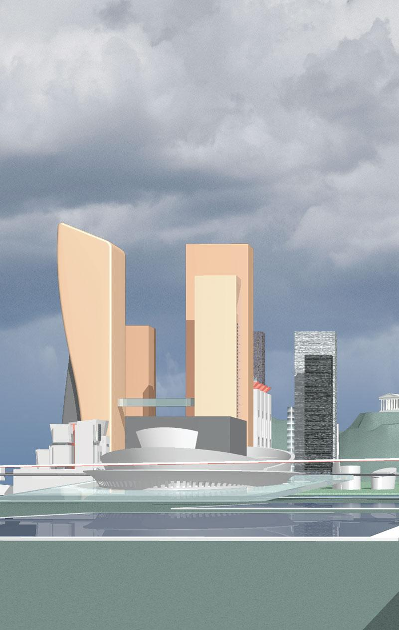 frederic borel architecte - urbanisme athènes quartier