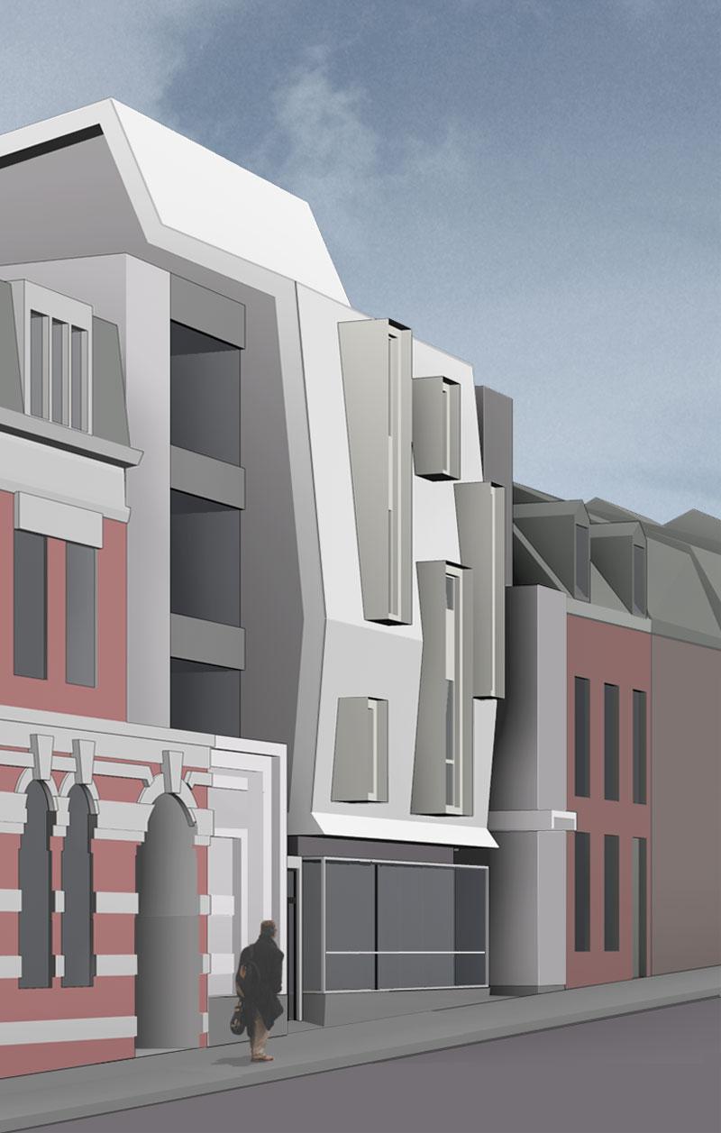 borel architecte -  logements a Béthune