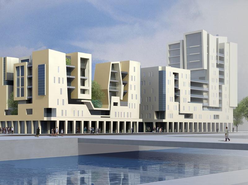 borel architect - logements activités - Ubersee Quartier