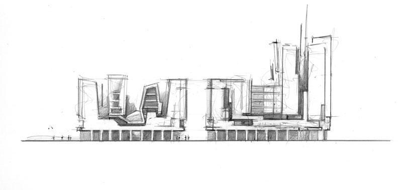 frederic borel architecte - bureaux  - Ubersee Quartier