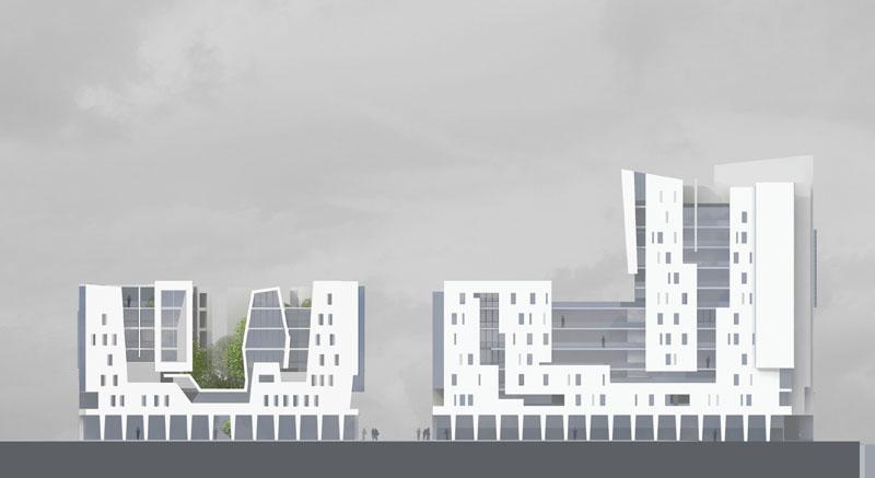 frederic borel architecte - programme logements bureaux activités