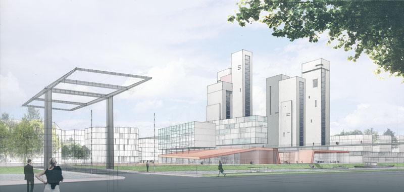 frederic borel architecte - hertogenbosch requalification du quartier gzg